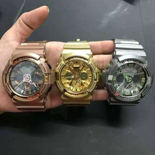 Casio G Shock Metallic Collection