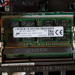 WTB: 8GB DDR3L SO-DIMM 204-PIN NON-ECC 2RX8 PC3L-12800S-11-13-F3