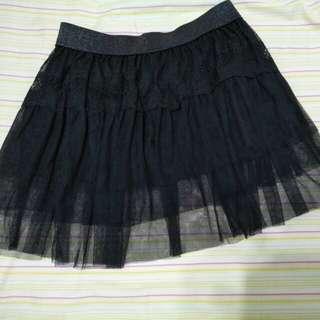 黑色蛋糕裙