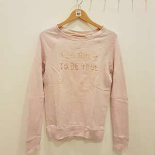 Sweater pink hnm pink