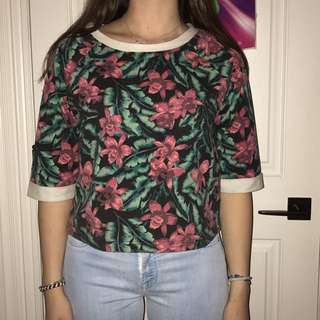 minkpink flower shirt!