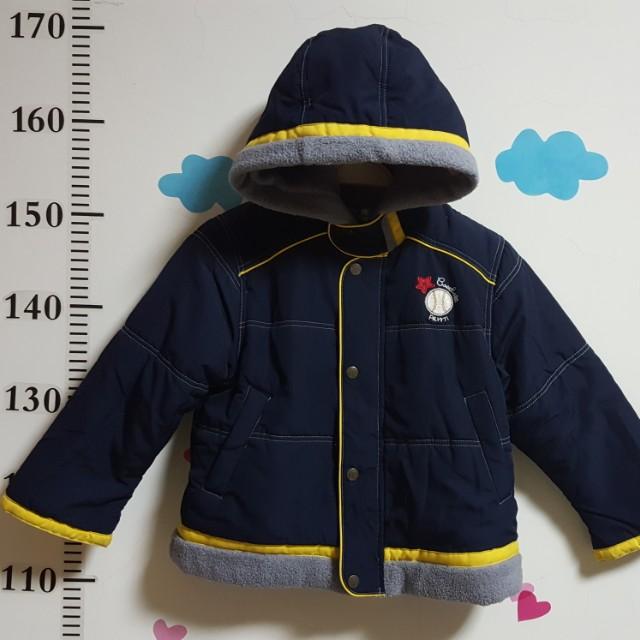 2T 麗嬰房連帽外套