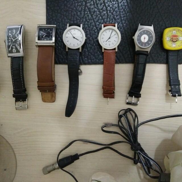 石英錶8支一起賣