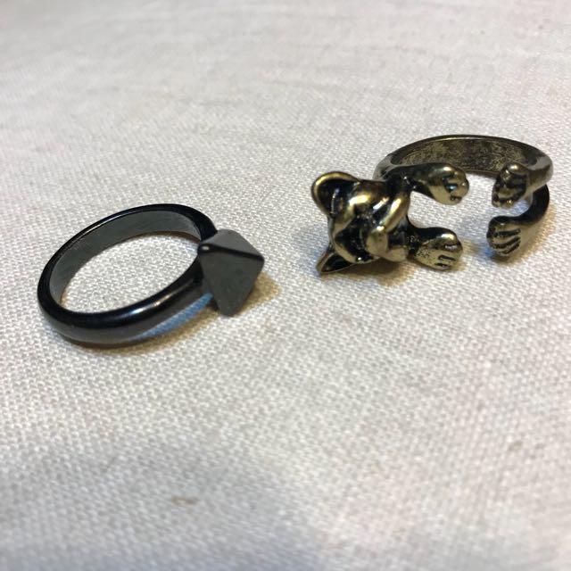 復古刷舊戒指