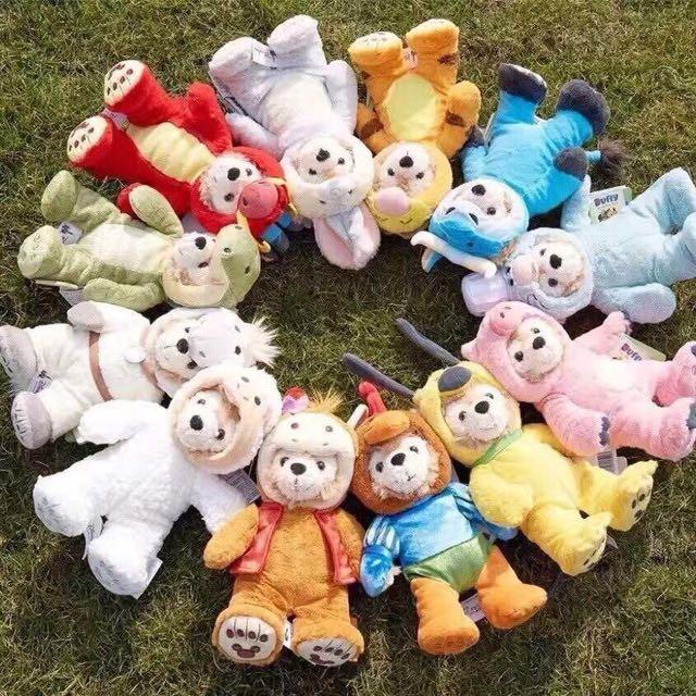 香港迪士尼十二生肖達菲熊