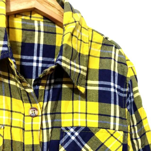 短版七分袖襯衫