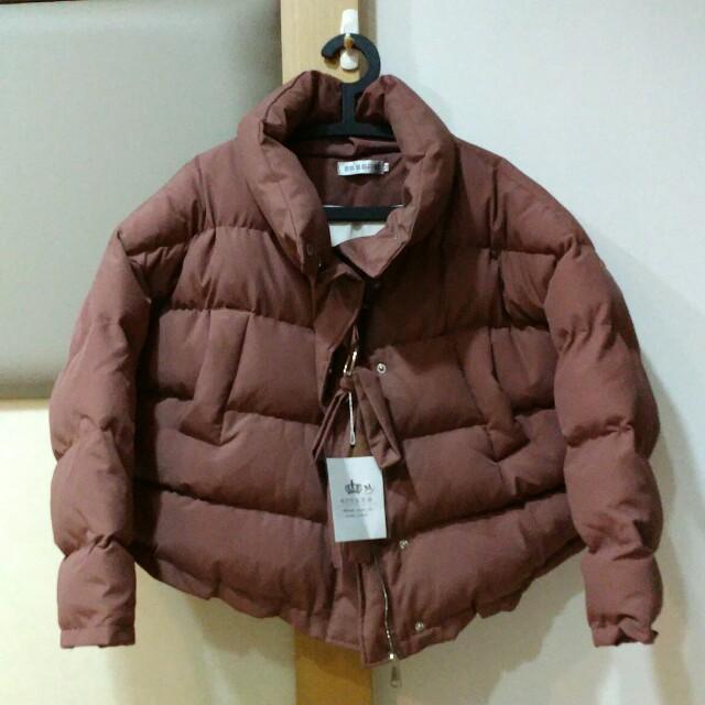 花苞領極暖外套