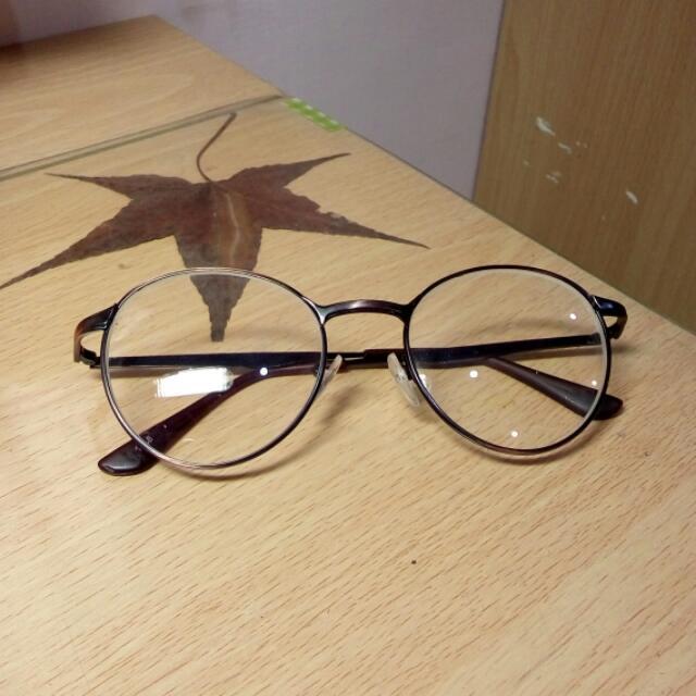 質感/復古/平光眼鏡