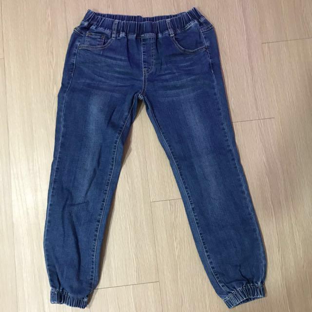 牛仔縮口褲#幫你省運費#兩百元丹寧