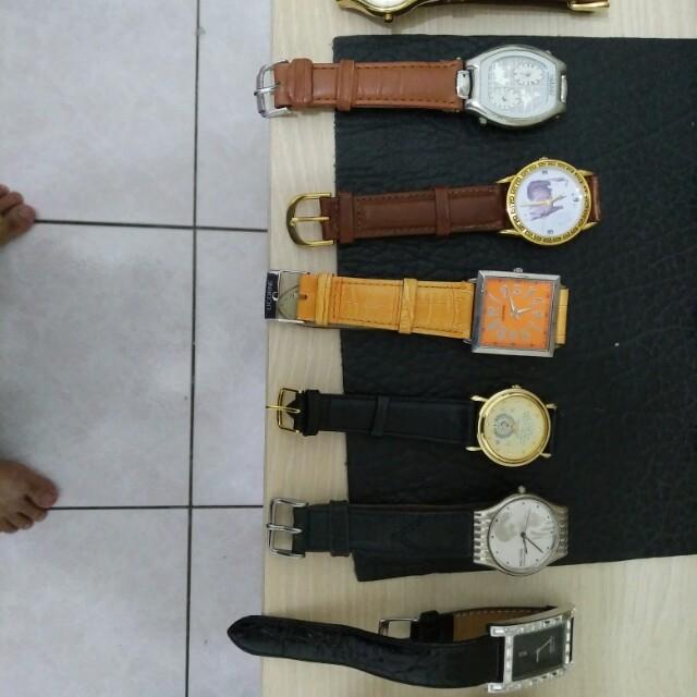 石英錶八隻一起賣