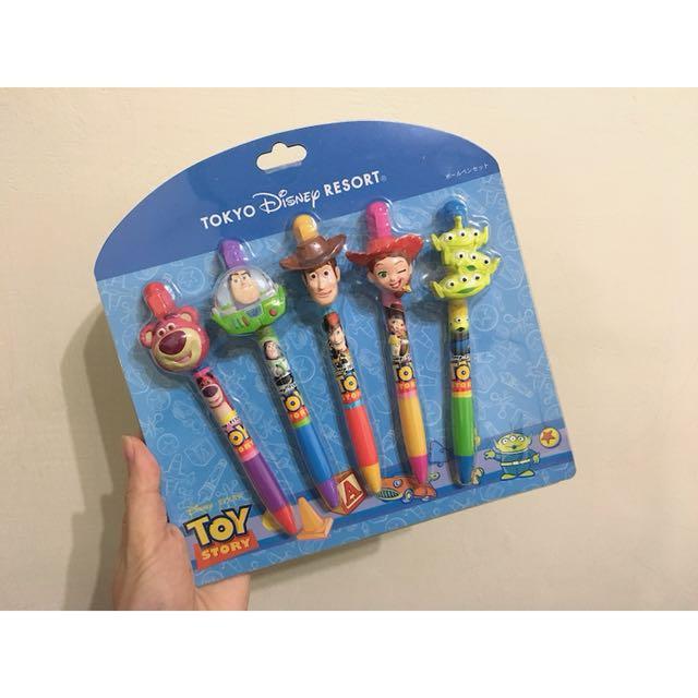 正版迪士尼樂園限定 皮克斯系列造型筆
