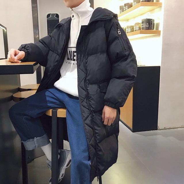 中長版 棉衣 大衣 外套