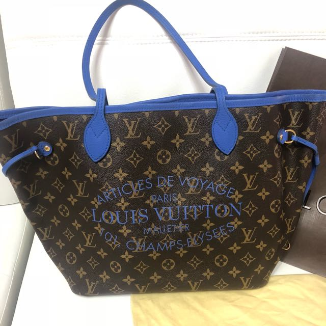 💯 % authentic Louis Vuitton Neverfull MM ICAT
