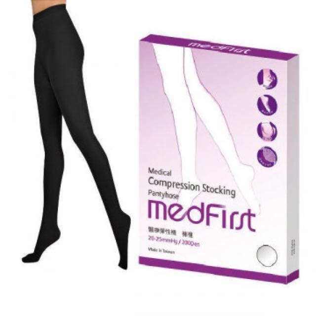 杏一 Medfirst 醫療彈性襪 ( 褲襪 / 200D / 黑 )