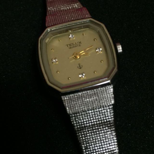 耶誕贈禮首選 Telux 鐵力士古典女錶 B款