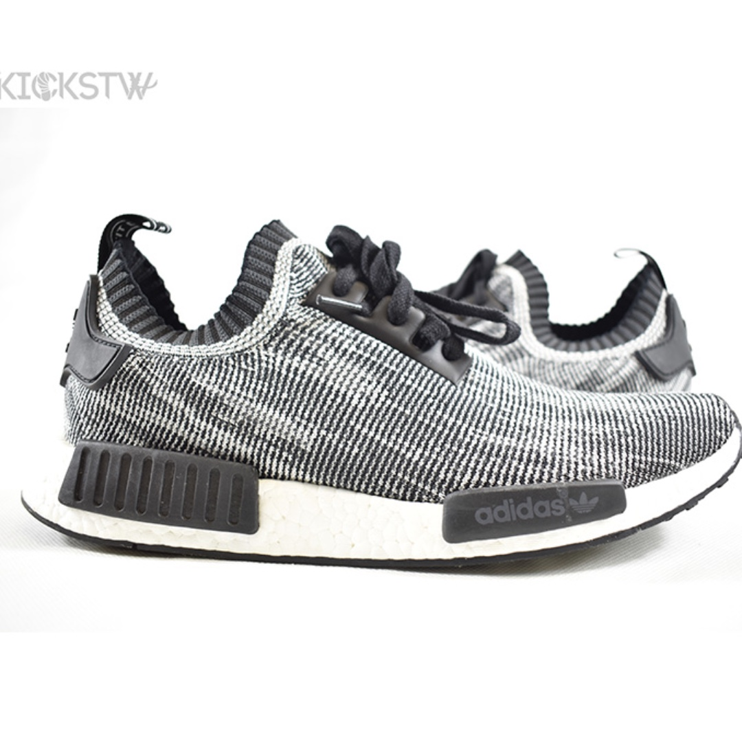 94e8fae36f8a0 Adidas NMD R1 PK 'Camo Pack' Grey, Men's Fashion, Footwear on Carousell
