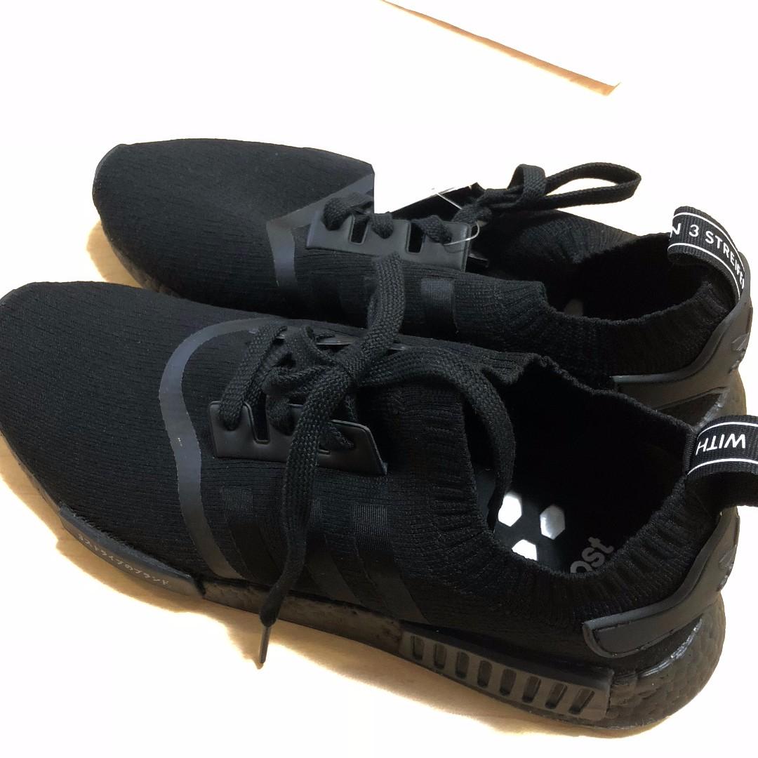 Adidas Originals NMD R1 PK Japan Triple Black size 11.0 1:1