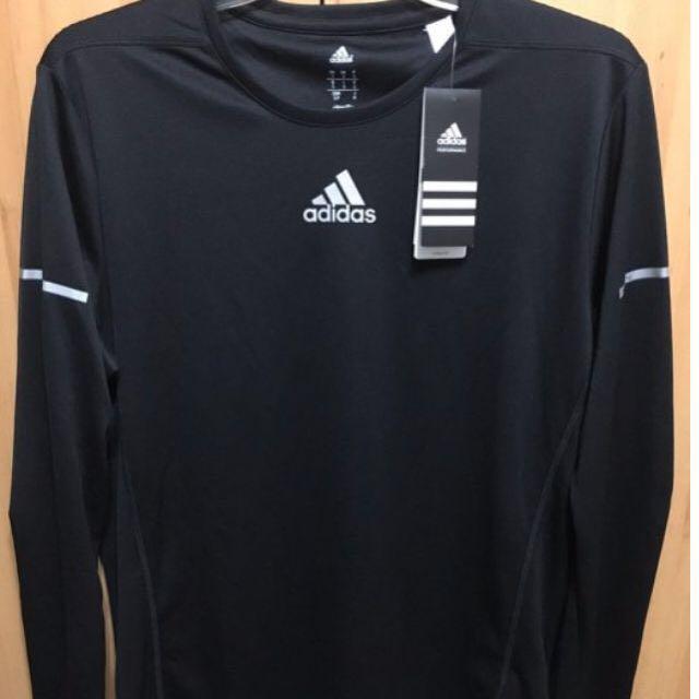 Adidas 運動長T/慢跑/健身