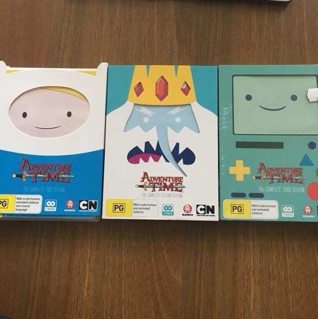 Adventure Time Season 1,2&3