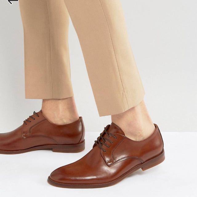 ALDO咖啡色 皮鞋 牛津鞋 US7 US8