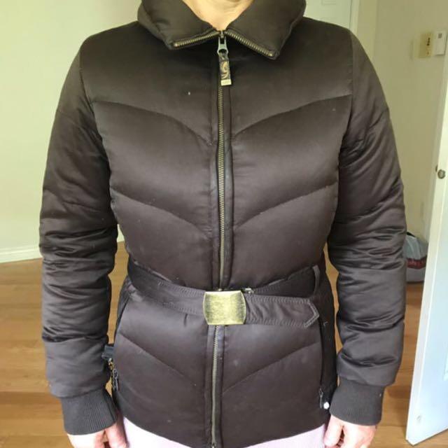 ARITZIA Brown Winter Coat