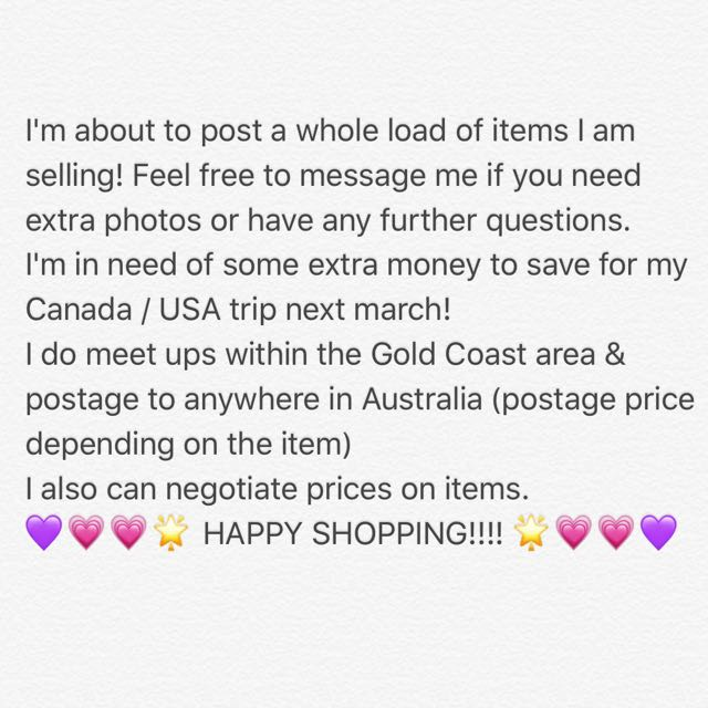 ATTENTION! For Sale! Selling Items!