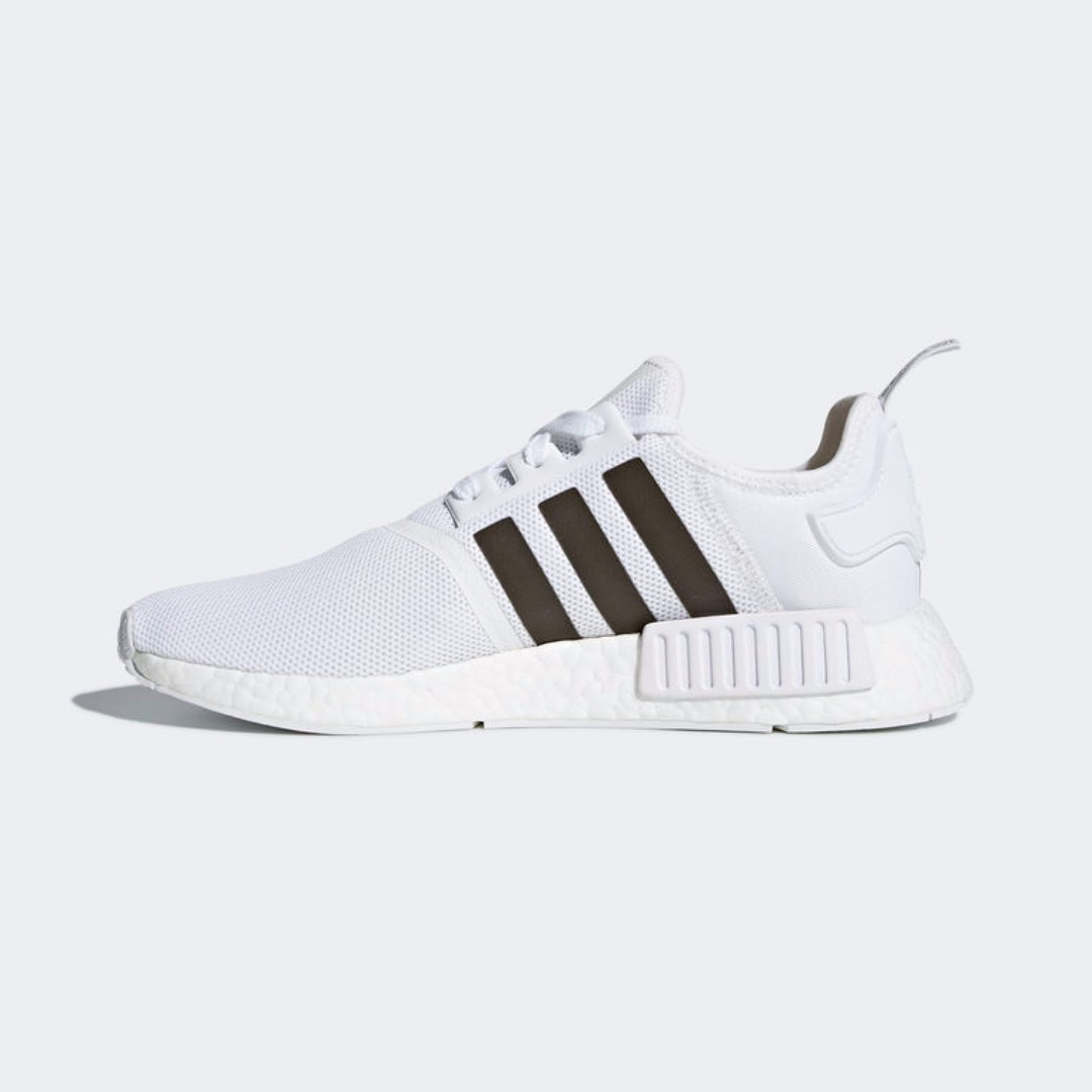the best attitude bac90 0cc9e Authentic Adidas Originals NMD R1 White / Trace Grey ...