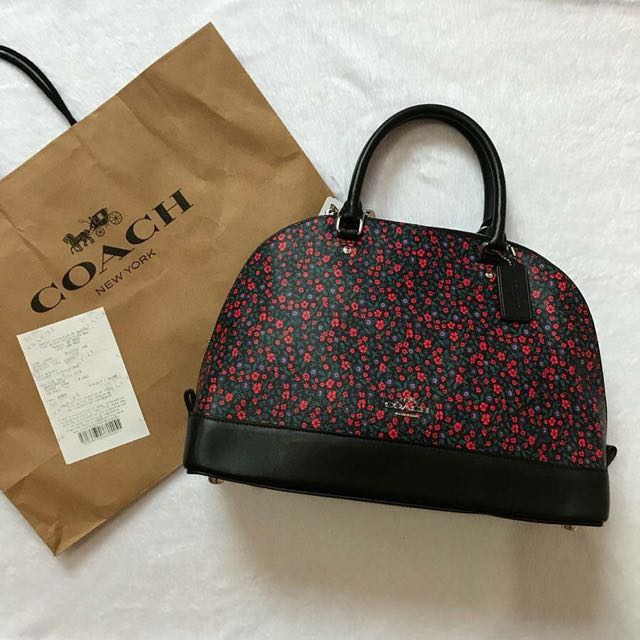 Authentic Coach Sierra in Floral Ranch Print