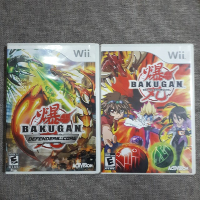 Bakugan Games (for wii, Toys & Games, Video Gaming, Video