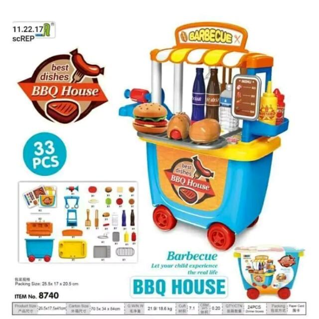 BBQ House Playset