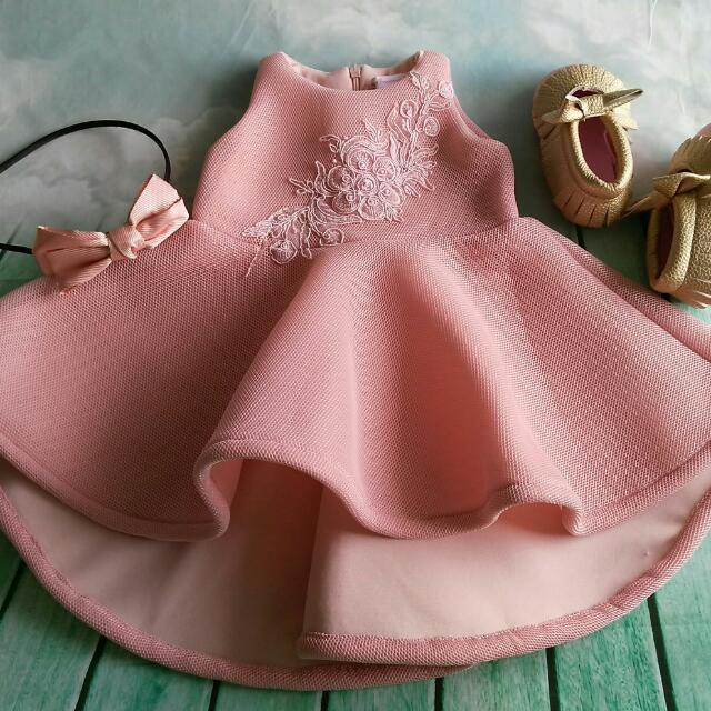 Birthday Dress 1 Year Old Baby Babies Kids Girls Apparel On