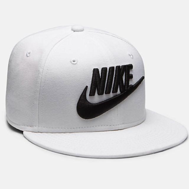 Black and White Nike Hat