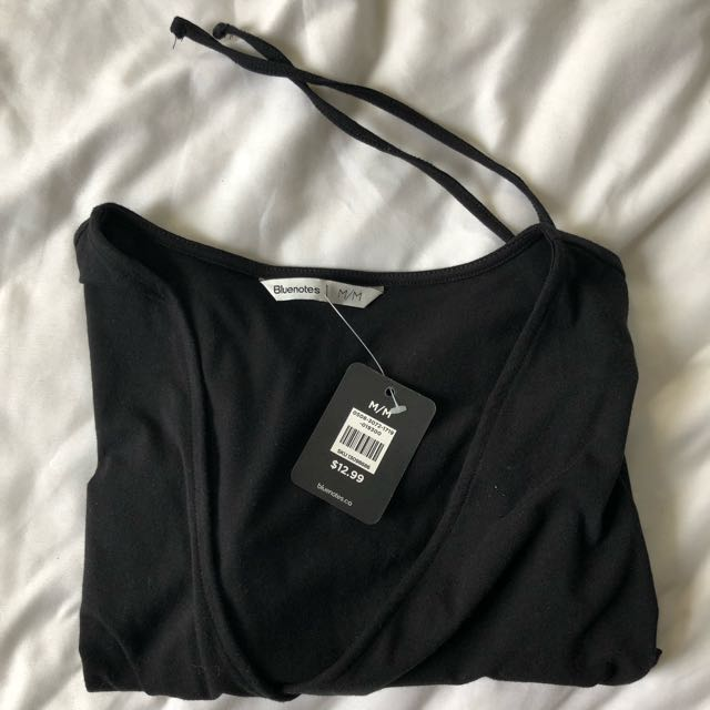 Bluenotes Crop T-Shirt