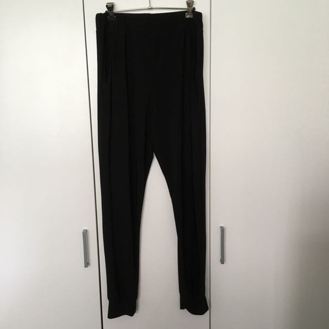 Boohoo Black Silky Pants