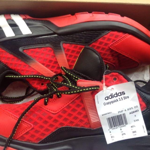 Brand New Adidas Crazyquick 3.5 Street Size 9.5