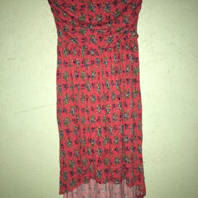 Branded tube dress