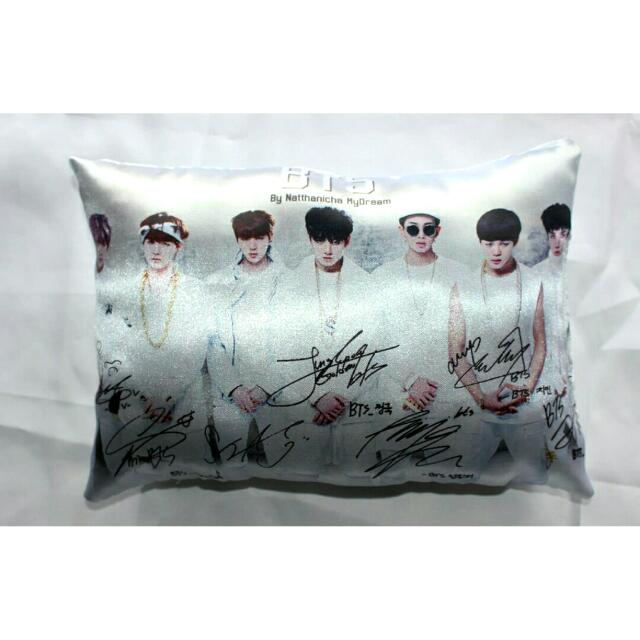 BTS SIGNATURED PILLOW