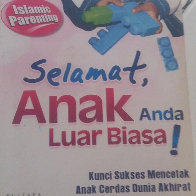 Buku Selamat Anak Anda Luar Biasa