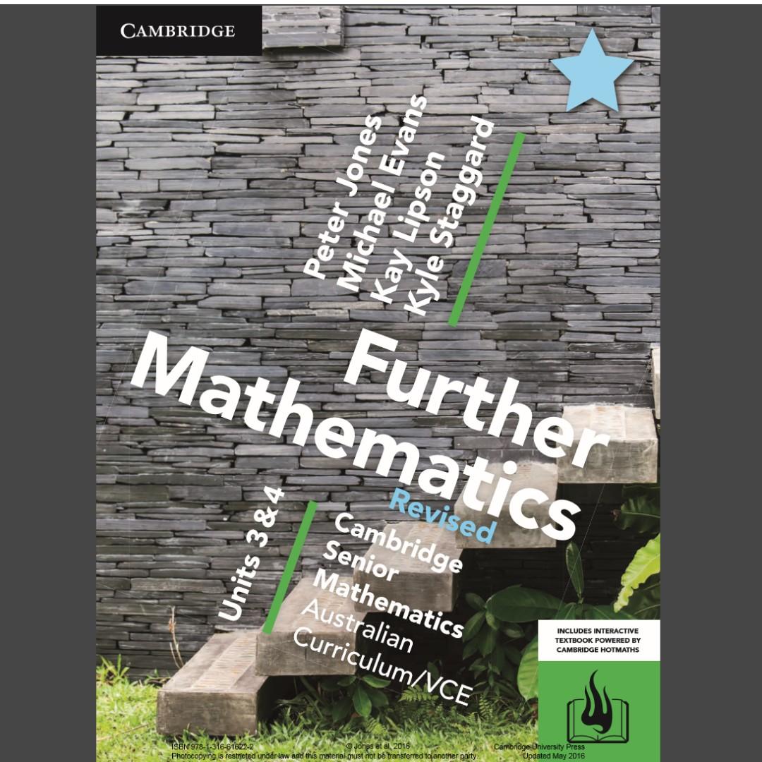 Cambridge Further Maths 3/4 PDF file