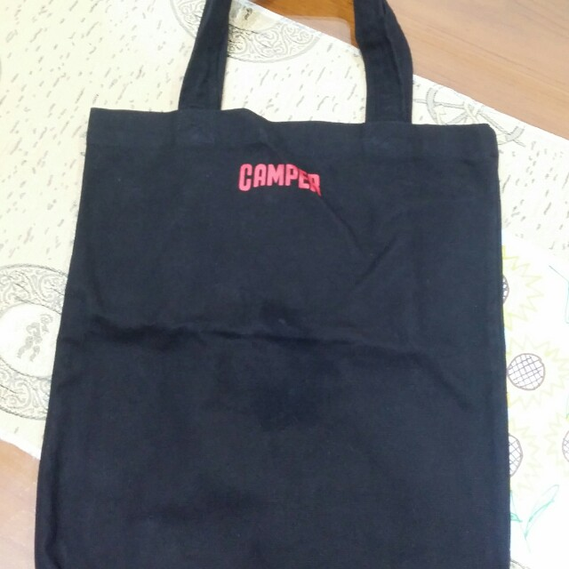 CAMPER 布購物袋
