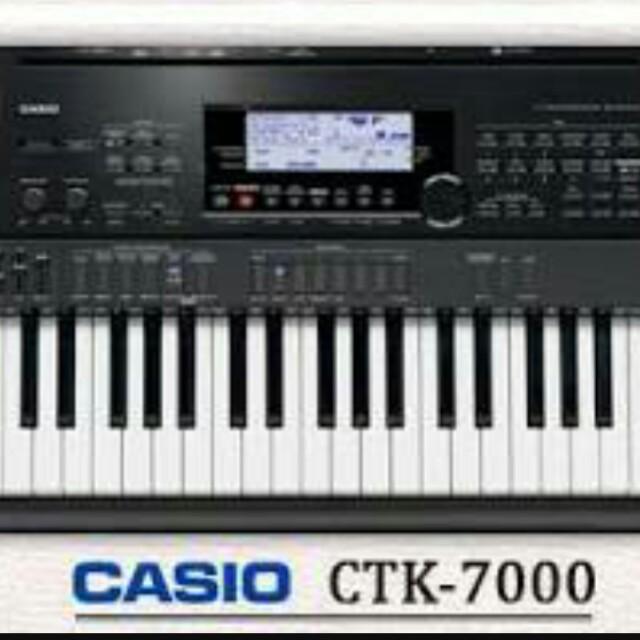 casio ctk 7000 keyboard music media music instruments on carousell rh ph carousell com