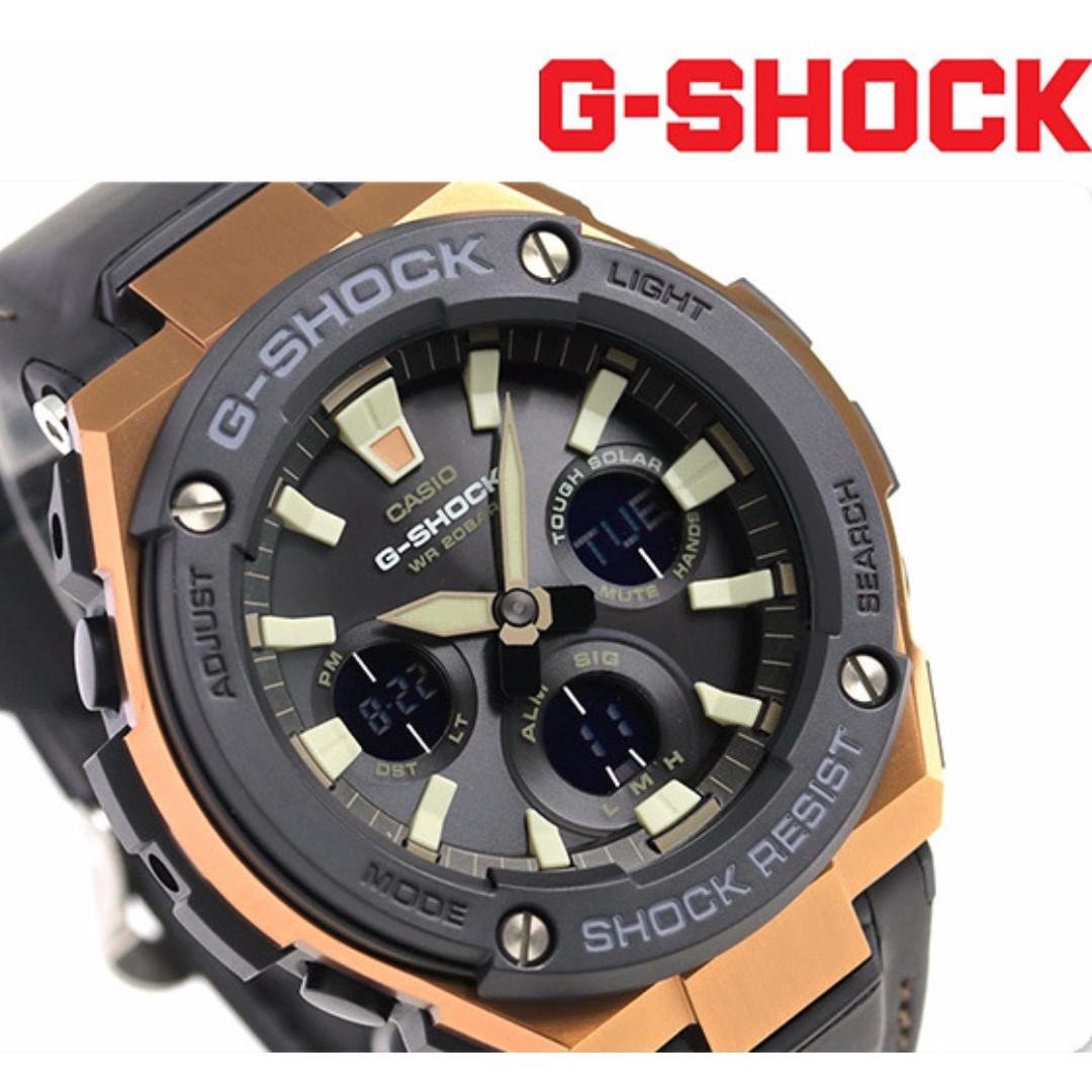 e2f5f828d Casio G-Shock G-Steel Super Illuminator Leather Strap G-Steel Gsteel ...