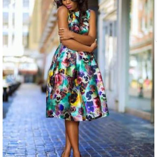Chi Chi London Floral Dress