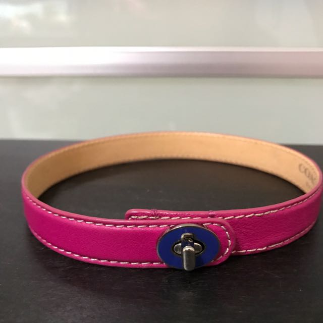 Coach pet collar