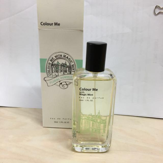 Colour Me Perfume Floral Powdery Korean Perfume Xmas Gift