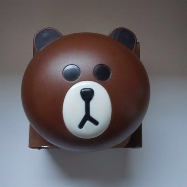 Contact Lenses LINE Brown Bear Case