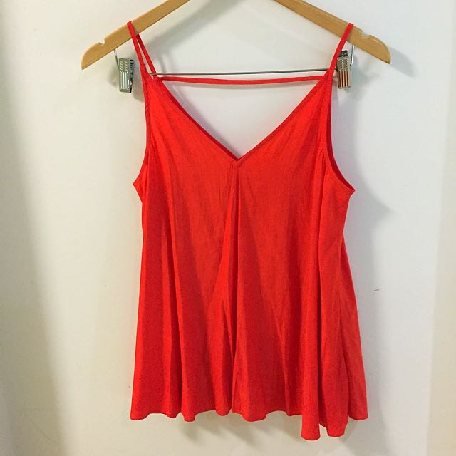 Country Road red singlet top
