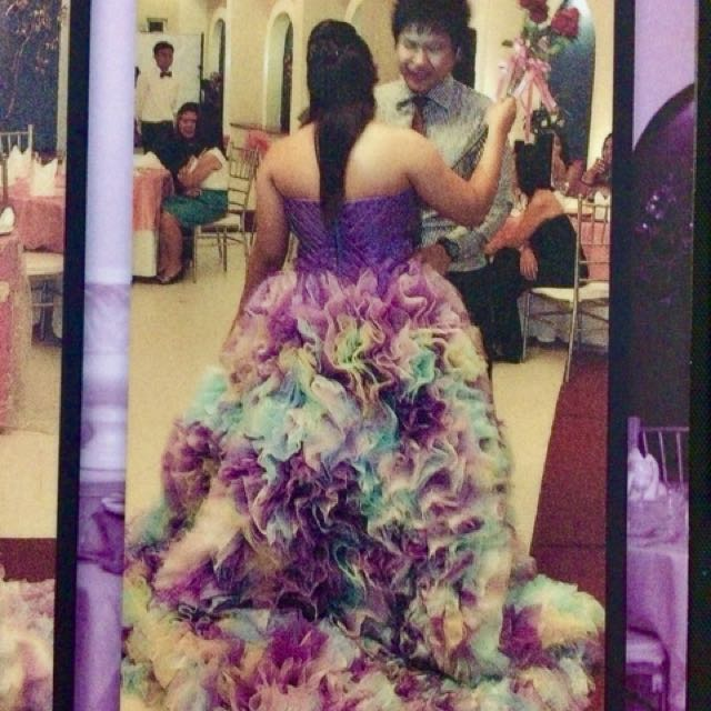 Debut Gown by Happy Andrada