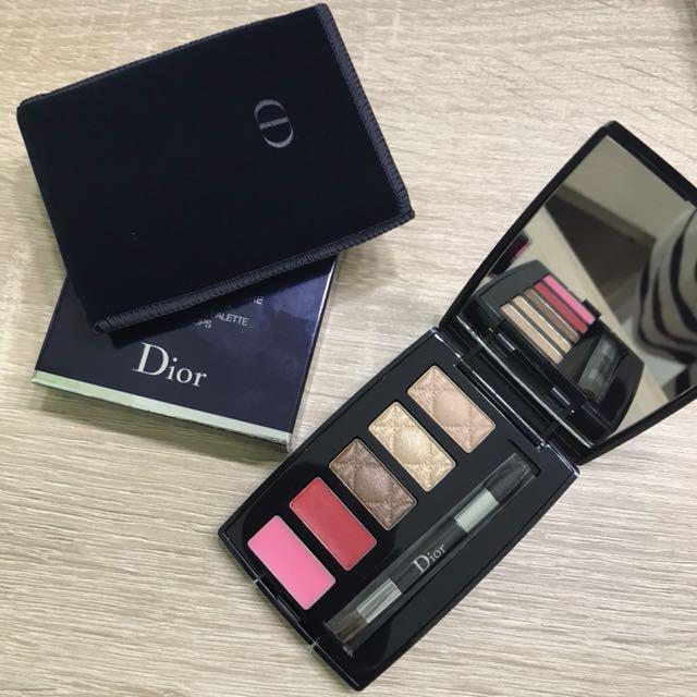 Dior 全新彩妝大師眼唇妝盤