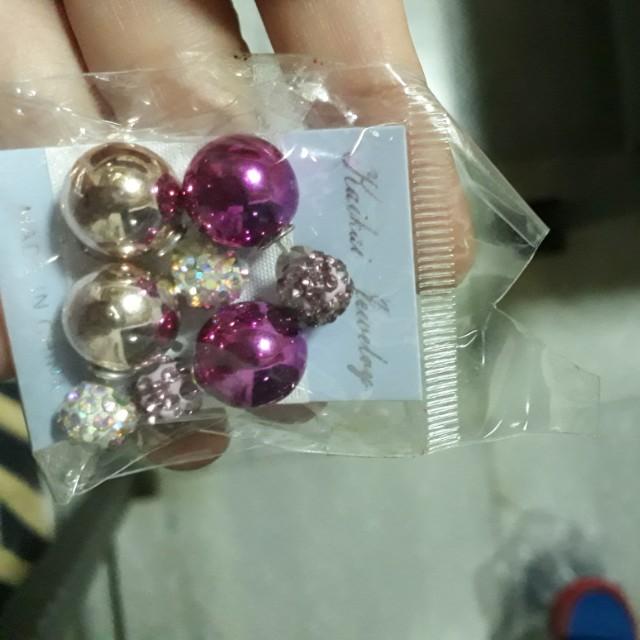 DIOR Earrings (2 set)
